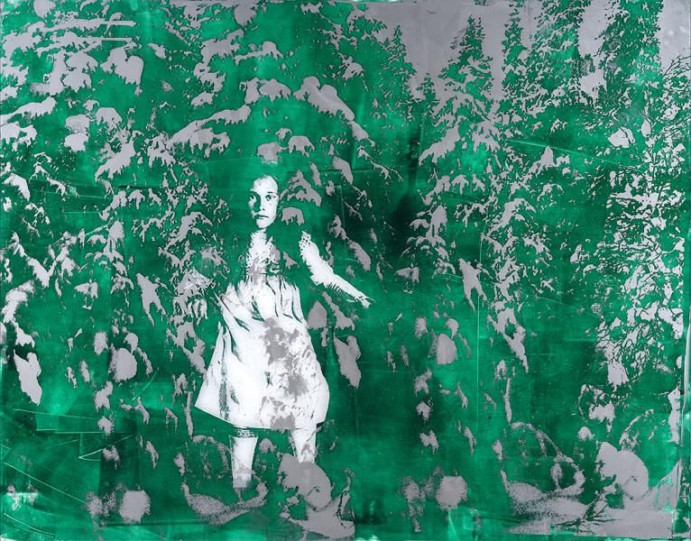Flickan i skogen