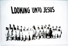 """Looking onto Jesus"""