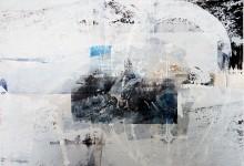 """Sjøsamer"" Screenprint on aluminum 50 x 60 2016"