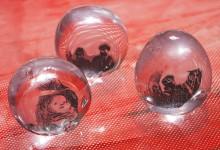 Kalmebakkte Graal glass